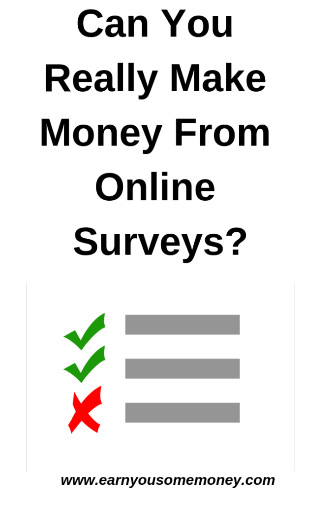 Can You Really Make Money From Online Surveys_