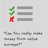 Can You really make money from online surveys?