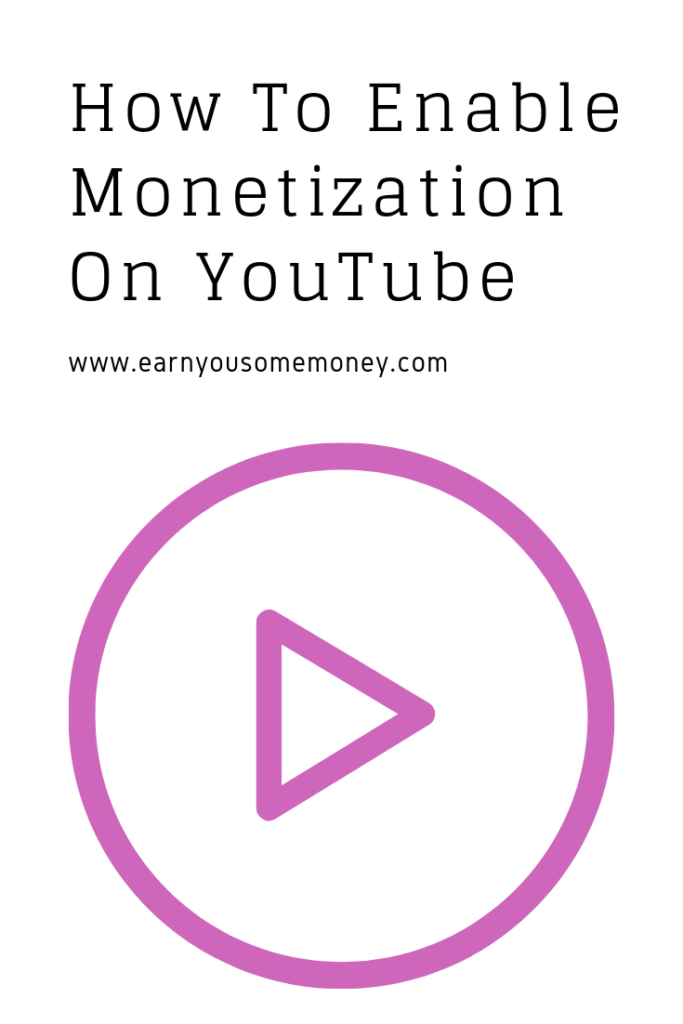 Enable Youtube Background Playback For Free On Android: How To Enable Monetization On YouTube With Illustrations