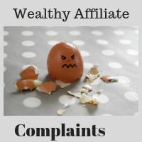 Wealthy Affiliate Complaints
