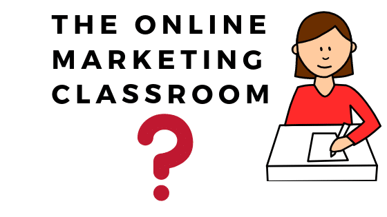 Online Marketing Classroom  Price Discount March 2020